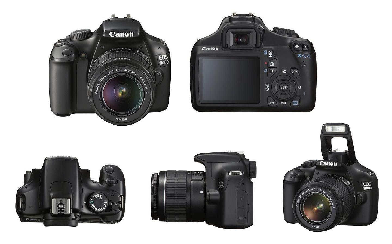 1100d Kamera CANON EOS 1100D Kit untuk pemula