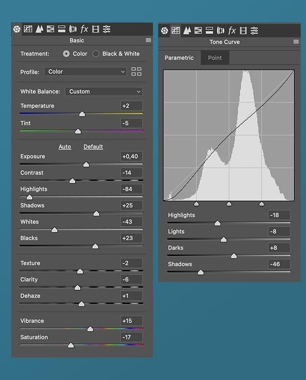 Camera RAW Filter 1 Cara Membuat Foto Dengan Warna Soft Tone di Photoshop