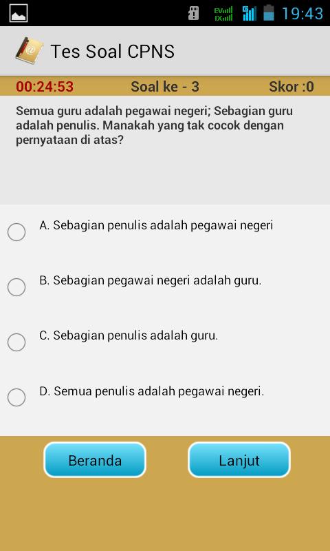 Screenshot 2014 06 01 19 43 10 Simulasi CAT CPNS Untuk Android