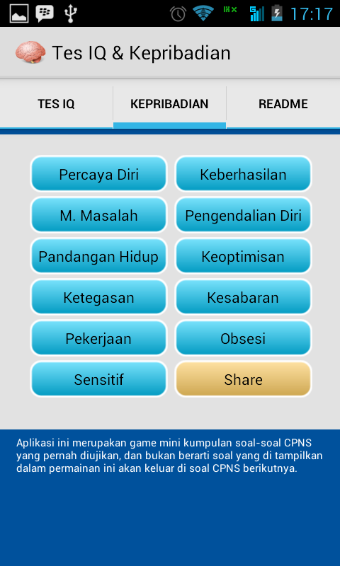 Screenshot 2014 07 06 17 17 24 Tes IQ Dan Kepribadian di Android