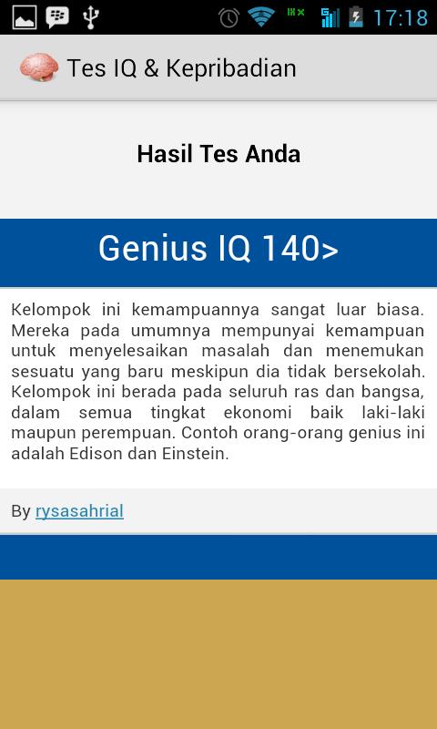 Screenshot 2014 07 06 17 18 30 Tes IQ Dan Kepribadian di Android