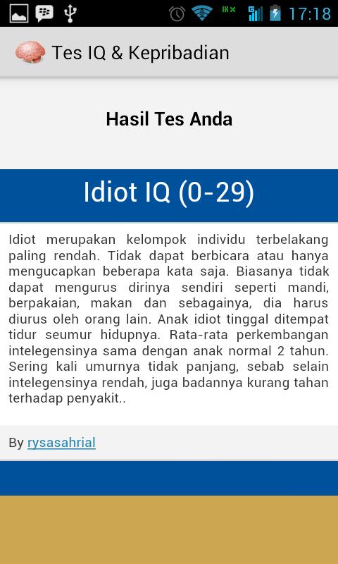 Screenshot 2014 07 06 17 18 52 Tes IQ Dan Kepribadian di Android