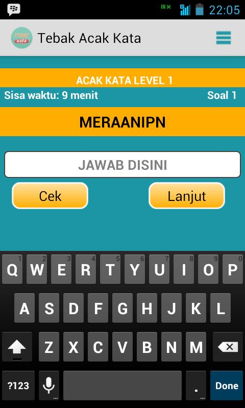 Screenshot 2014 08 13 22 05 55 Game Android Tebak Acak Kata