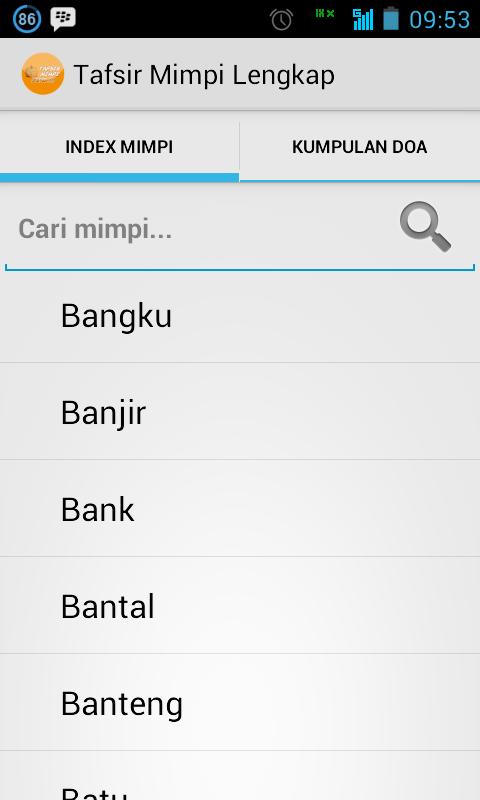 Tafsir Mimpi Lengkap Aplikasi Tafsir Mimpi Lengkap Untuk Android