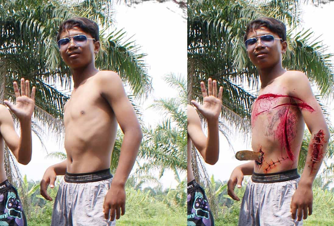 Untitled 11 Video Cara membuat efek luka dengan photoshop