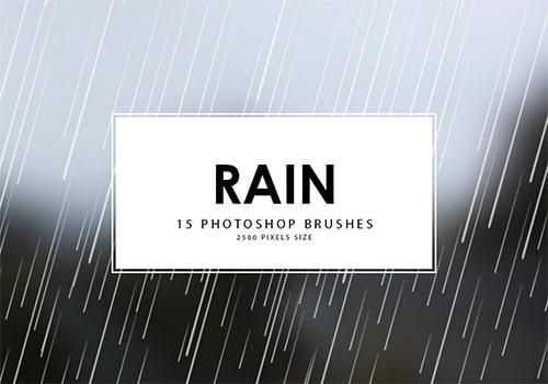15 Brush Air Hujan Download Gratis: Brush Air Hujan