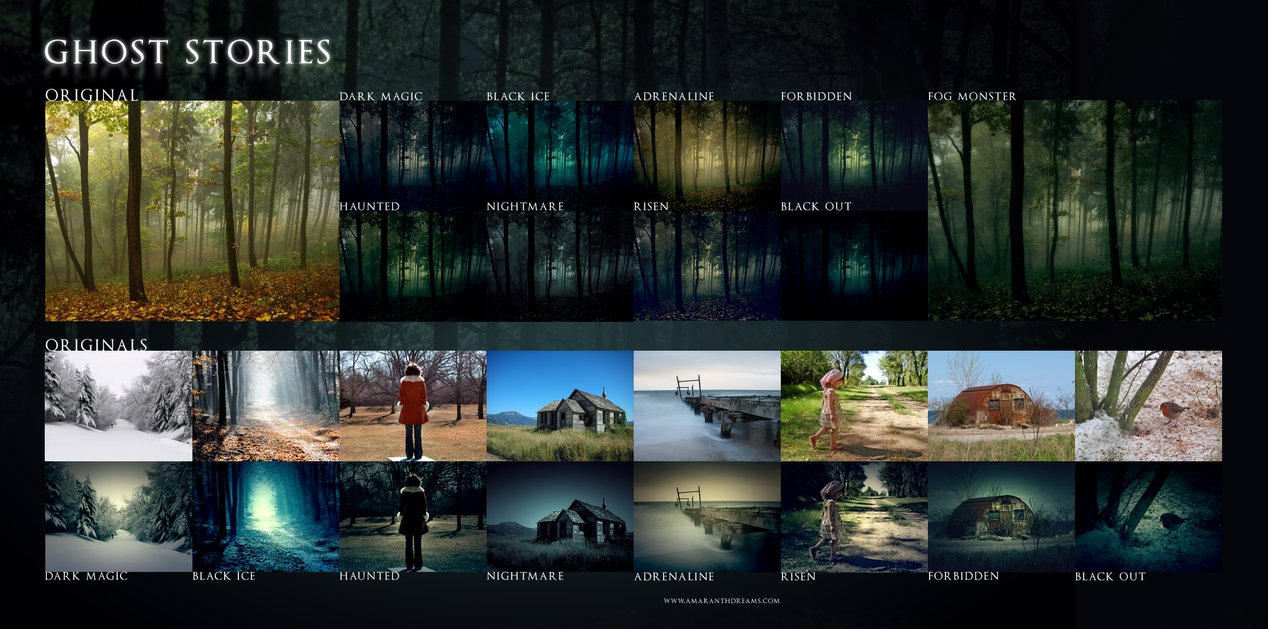 Ghost Stories Photoshop Action Ghost Stories Photoshop Action