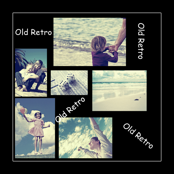 Old Retro Action by waterspirirtjess Old Retro Action Photoshop CS