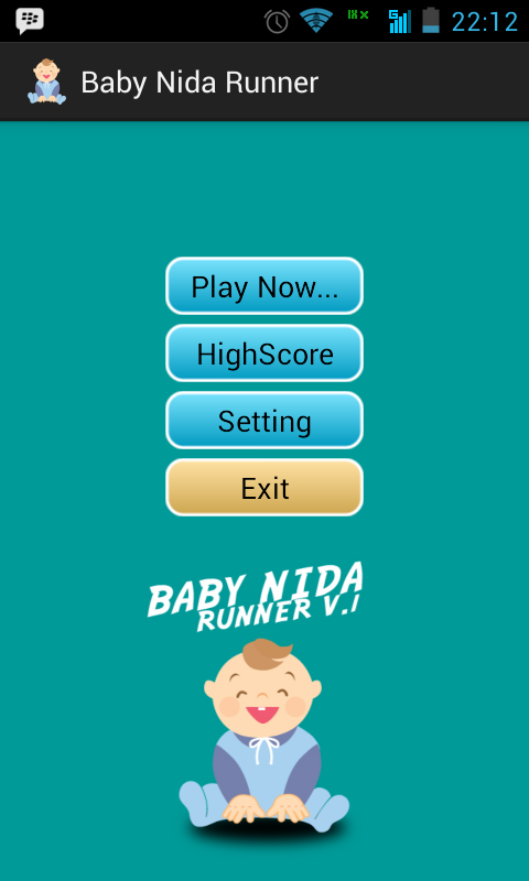Screenshot 2014 07 31 22 12 35 Game Android Baby Nida Runner