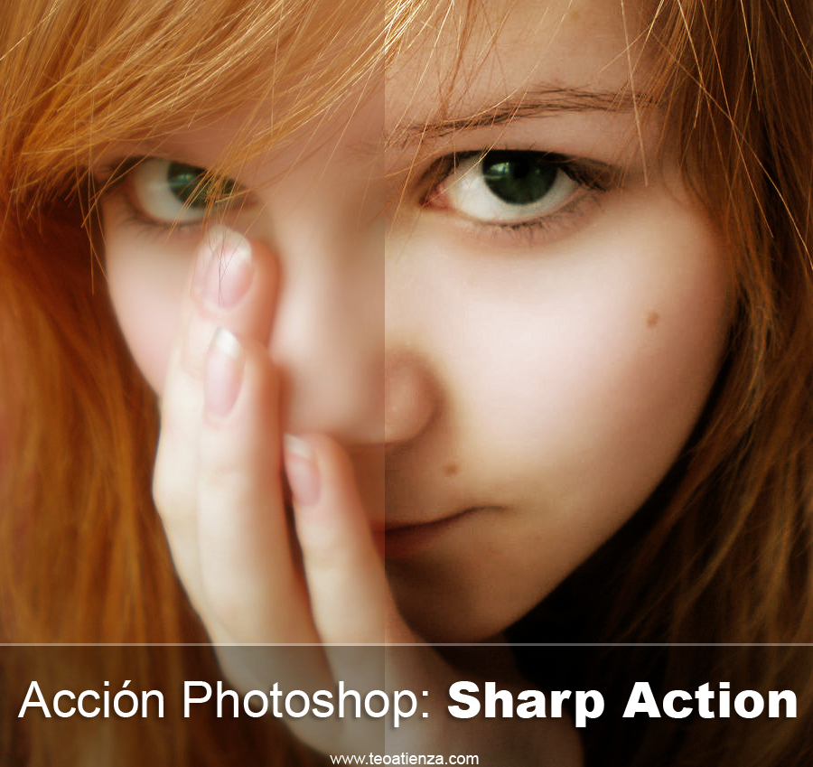 Sharp Action Photoshop action by TeoAtienza Sharp Action photoshop CS 3