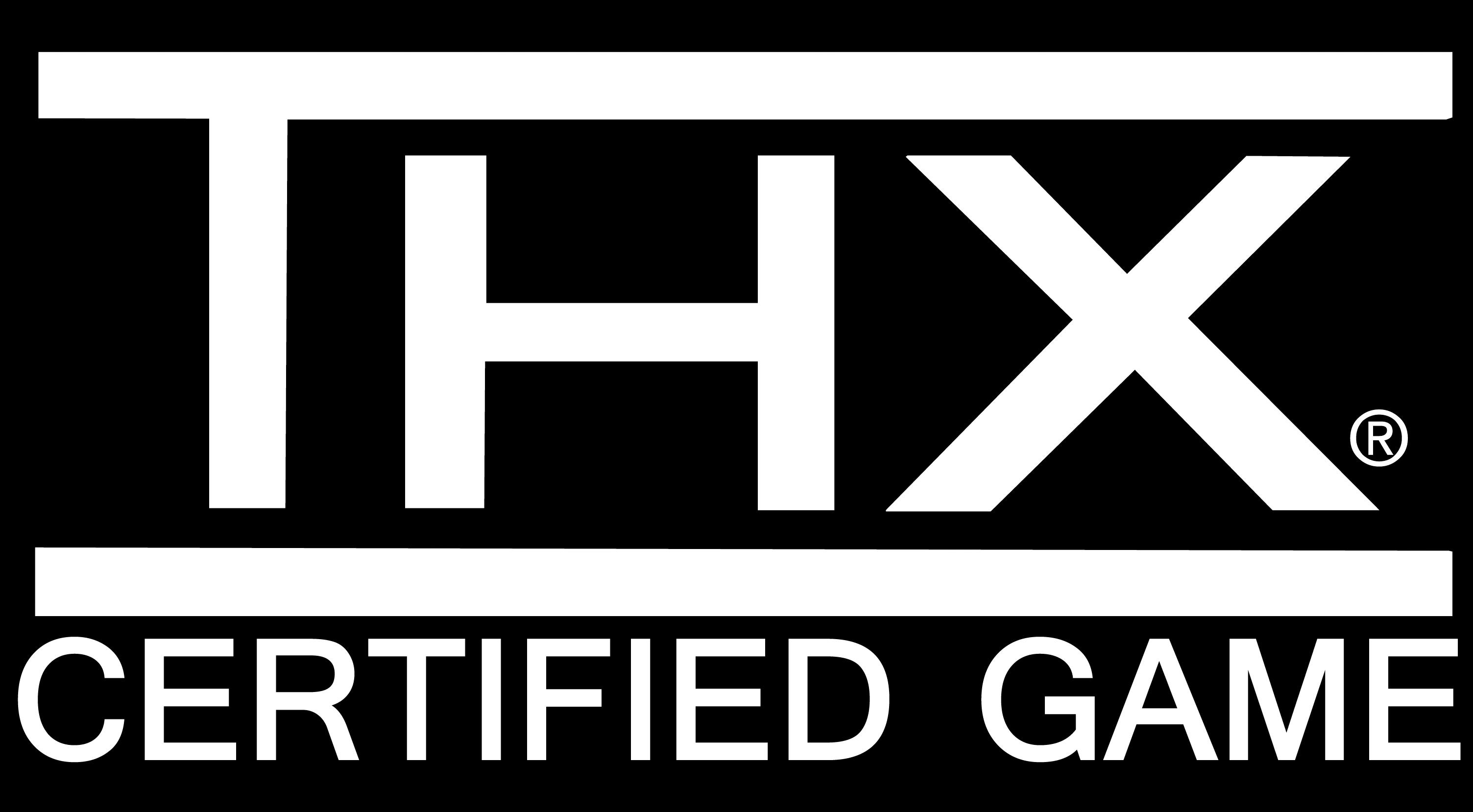 THX certified game logo THX certified game logo