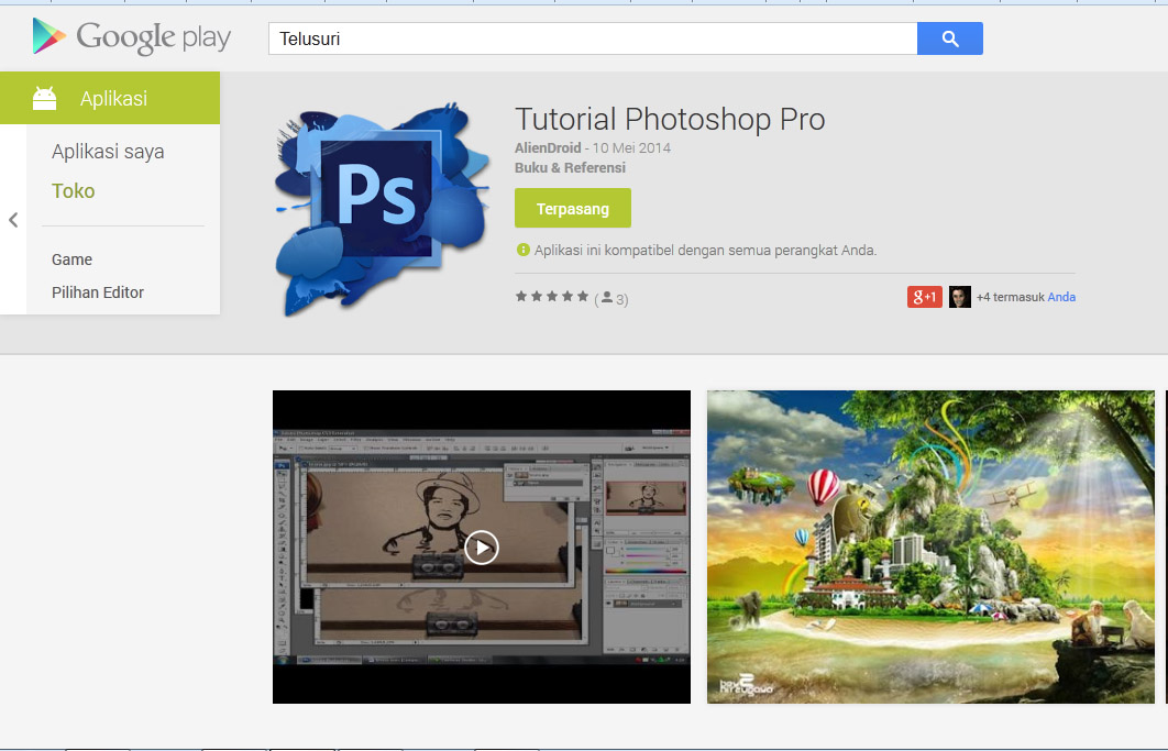 Untitled 14 Tutorial Photoshop Pro for Android
