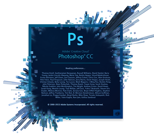welcome screen Download Photoshop CC